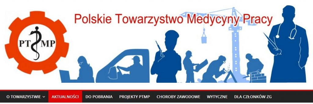 Grafika ze strony głównej PTMP z odnośnikiem