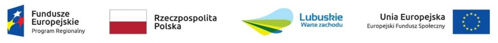 Logotypy programu finansowanego ze środków EFS, Programu Regionalnego